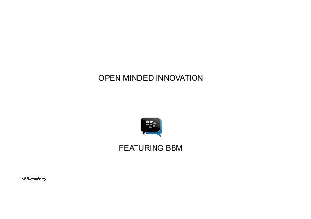 OPEN MINDED INNOVATION  FEATURING BBM