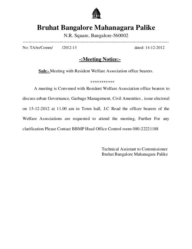 Bruhat Bangalore Mahanagara Palike                            N.R. Square, Bangalore-560002-------------------------------...