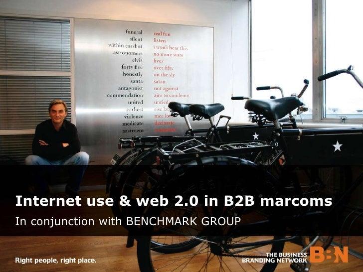 BBN 2009 Web 2.0 Survey Results