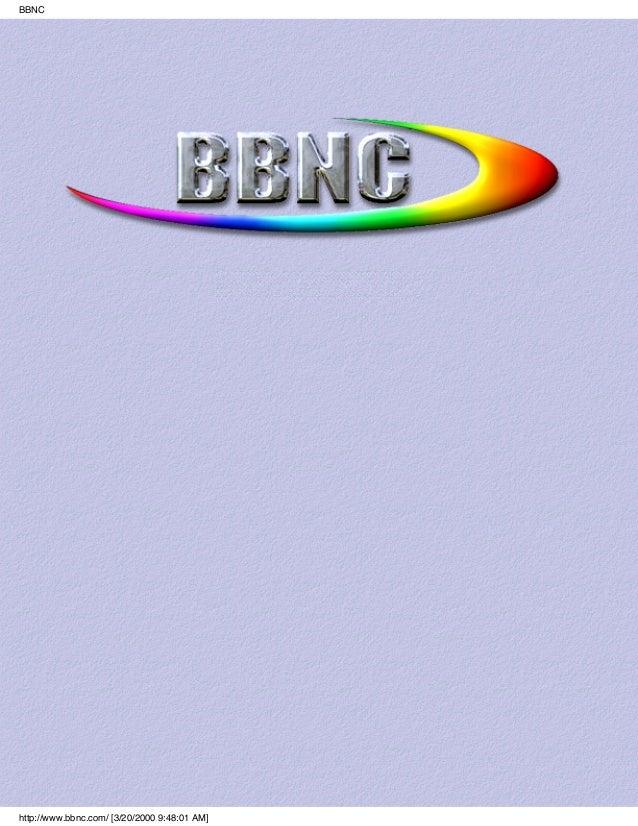 BBNChttp://www.bbnc.com/ [3/20/2000 9:48:01 AM]