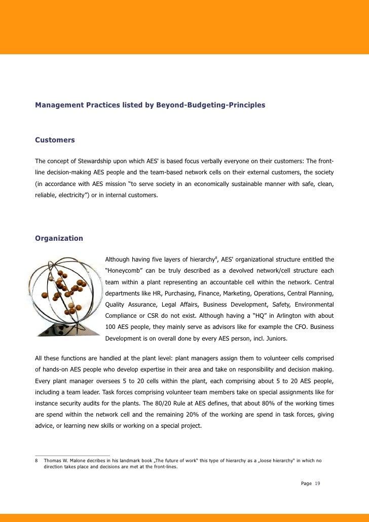 (PDF) Beyond Budgeting and change: A case study