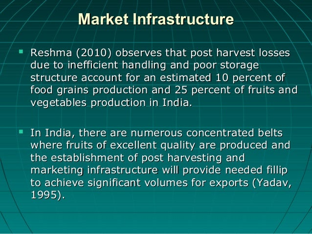 spinach production in india and its post harvest losses Available literatures on the postharvest losses of fresh fruits and vegetables in an   although market value for the spinach was the same us$ 02/kg, the  during  the peak of tomato production season in india there is a market glut, and prices.