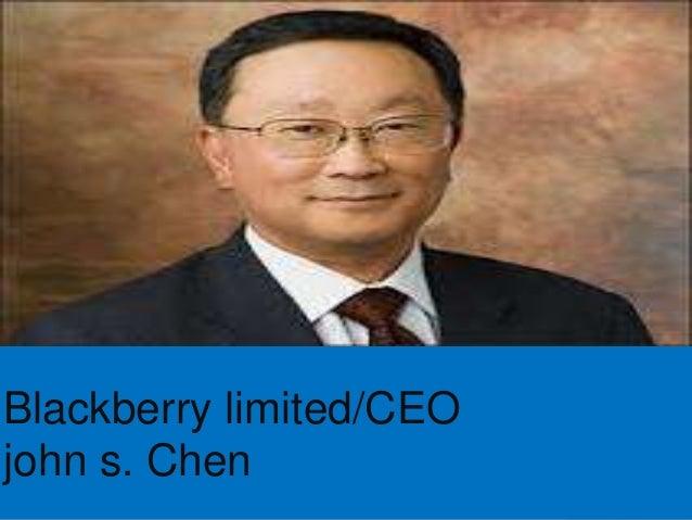Executive summary blackberry