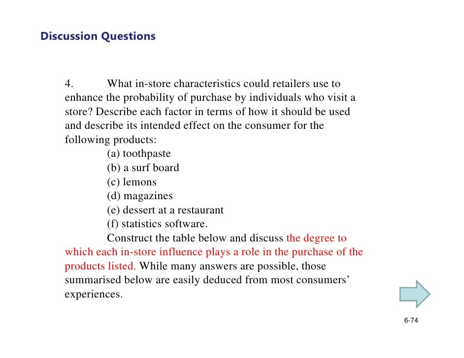example of discussion essay