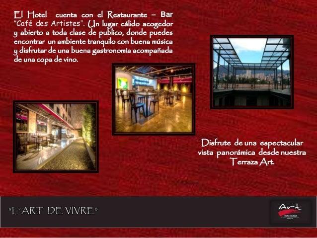 Disfruta de los mejores hoteles en medellin colombia art - Clases de cocina medellin ...