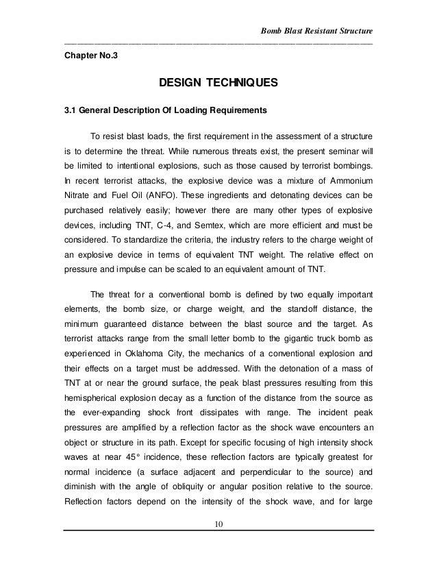 bomb blast essay