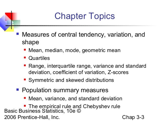 calculating stabdard deviation applications classpa