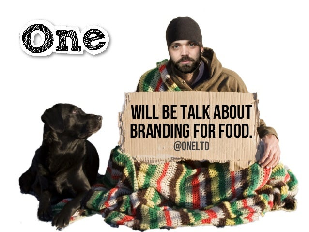Will be talk about branding for food. @oneltd