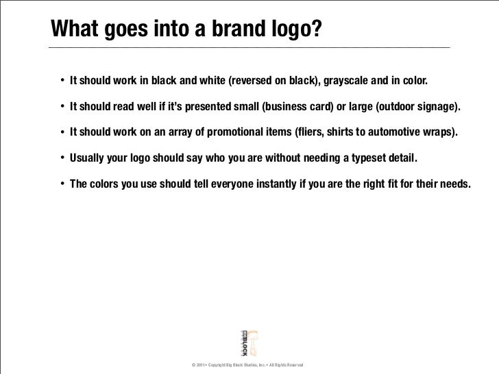 What Goes Into Making Your Logo