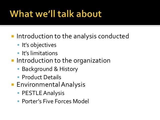 pestle analysis for supermarket
