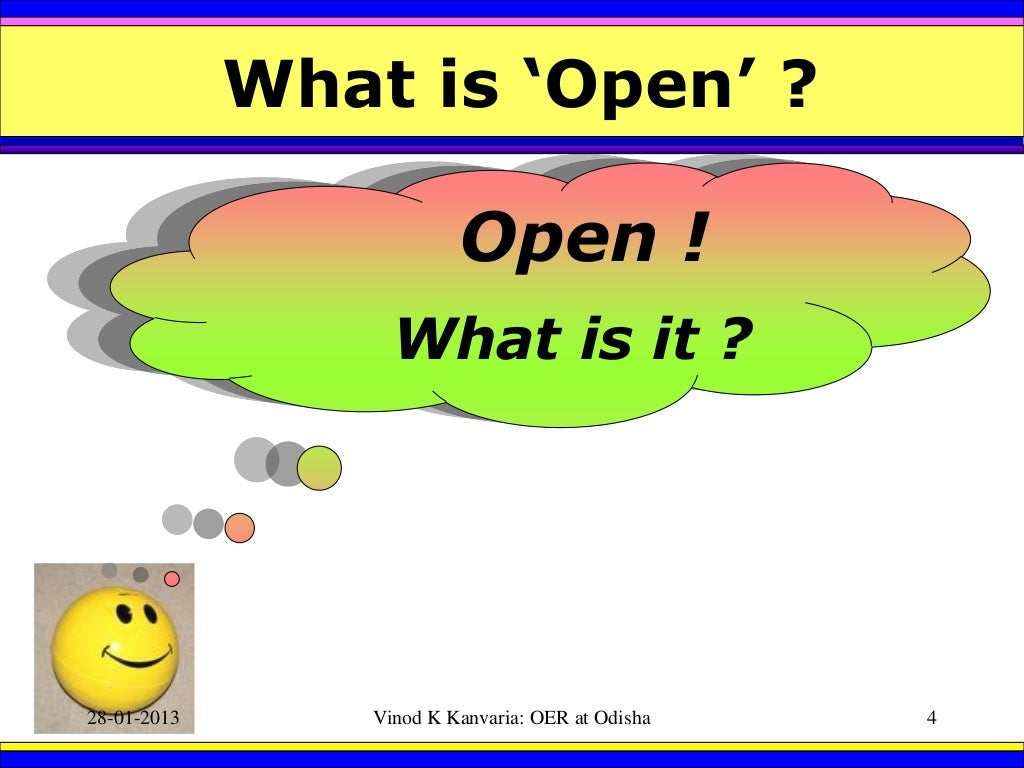 Logo for Open Educational Resources: Its Concept, Understanding and Exemplary Resources