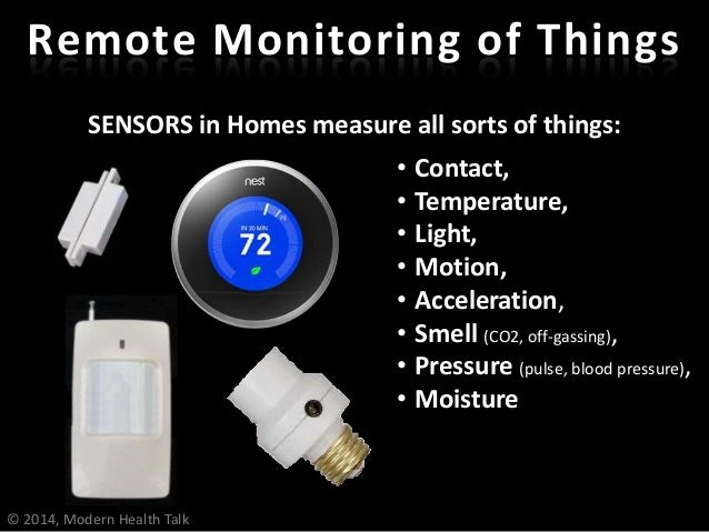 SENSORS in Cars, Clothing & on Bodies also measure: Phone as Health Gateway • Contact, • Temperature, • Light, • Motion, •...