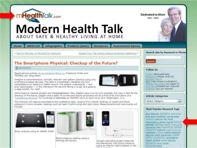 An iPad for All Ages Easy Accessible Connected Wireless © 2014, Modern Health Talk