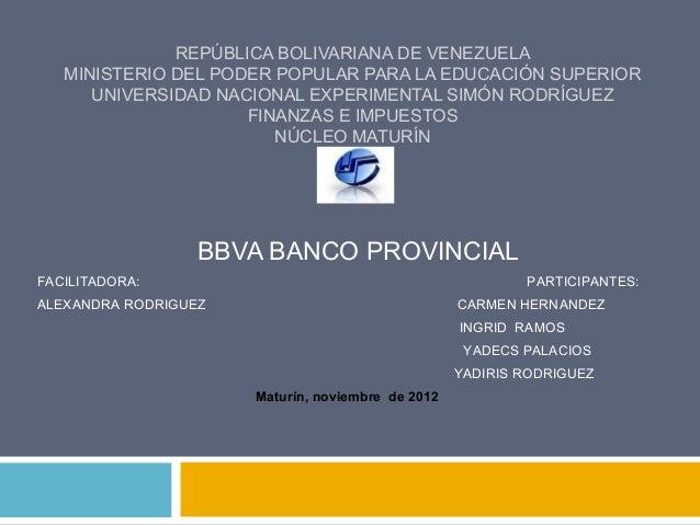 REPÚBLICA BOLIVARIANA DE VENEZUELA   MINISTERIO DEL PODER POPULAR PARA LA EDUCACIÓN SUPERIOR      UNIVERSIDAD NACIONAL EXP...