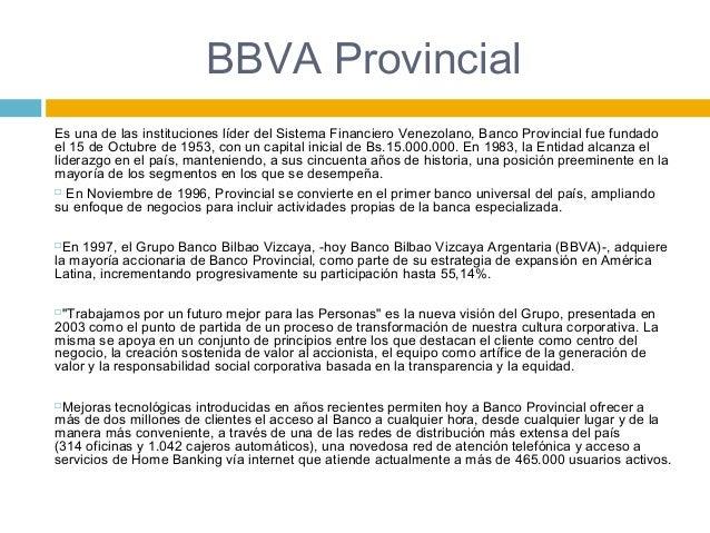 Requisitos Tarjeta De Credito Banco Provincial Venezuela