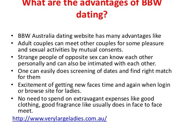 Fat dating australia