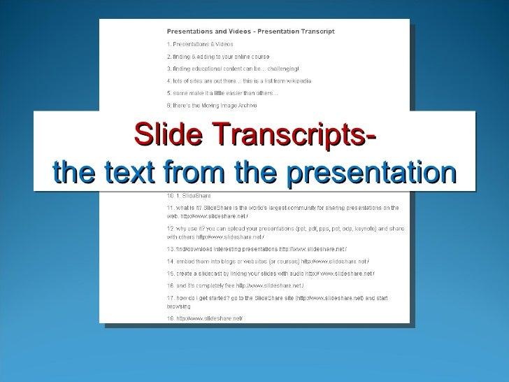 Pushing Past PowerPoint: Using Issuu and SlideShare