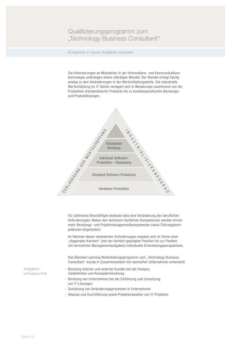 "Qualifizierungsprogramm zum                               ""Technology Business Consultant""                               E..."