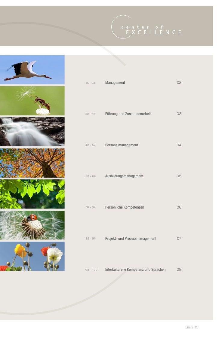 16 - 31    Management                               02   32 - 47    Führung und Zusammenarbeit               03   48...