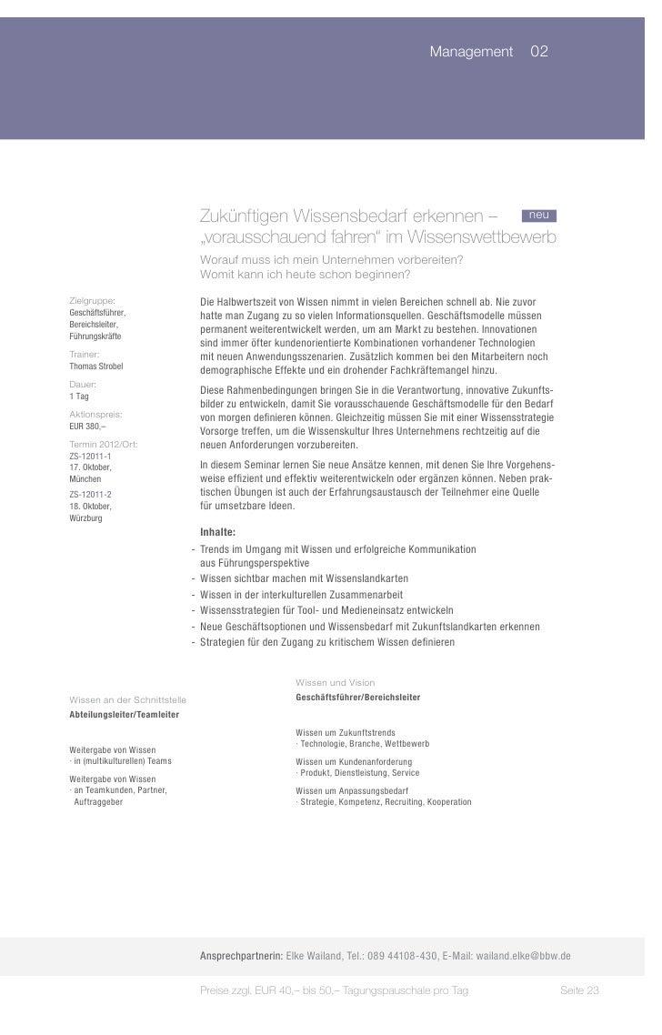 "Management 02                                 Zukünftigen Wissensbedarf erkennen – neu                                 ""..."