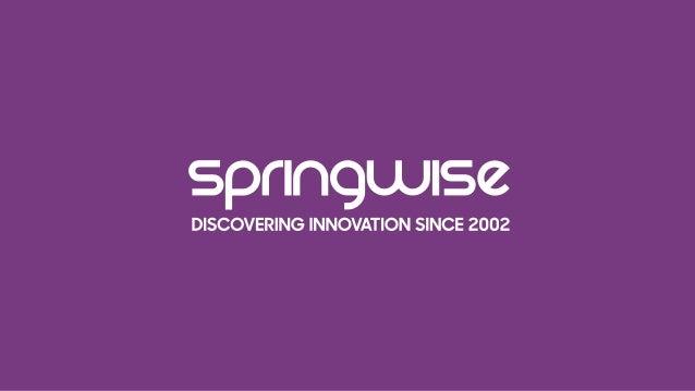 sprlngwlsz  DISCOVERING INNOVATION SINCE 2002