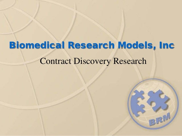 Biomedical Research Models, Inc Contract Discovery Research