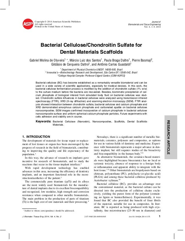 Copyright © 2014 American Scientific Publishers All rights reserved Printed in the United States of America  Journal of Bio...