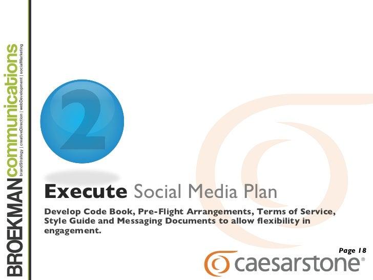 CaesarStone Social Media Presentation