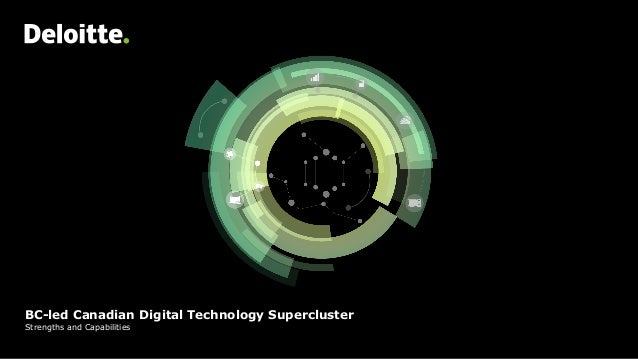 BC-led Canadian Digital Technology Supercluster Strengths and Capabilities