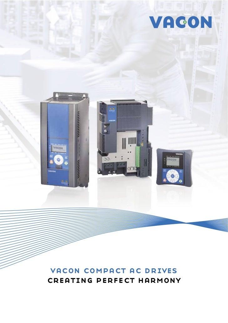 vacon compact ac drivescreating perfect harmony