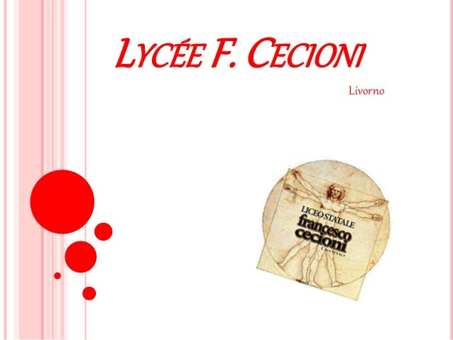 LYCÉE F. CECIONI Livorno