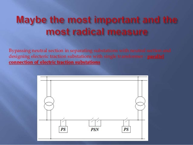 New Approach Of Designing And Exploatation Of Electrical Traction Sub