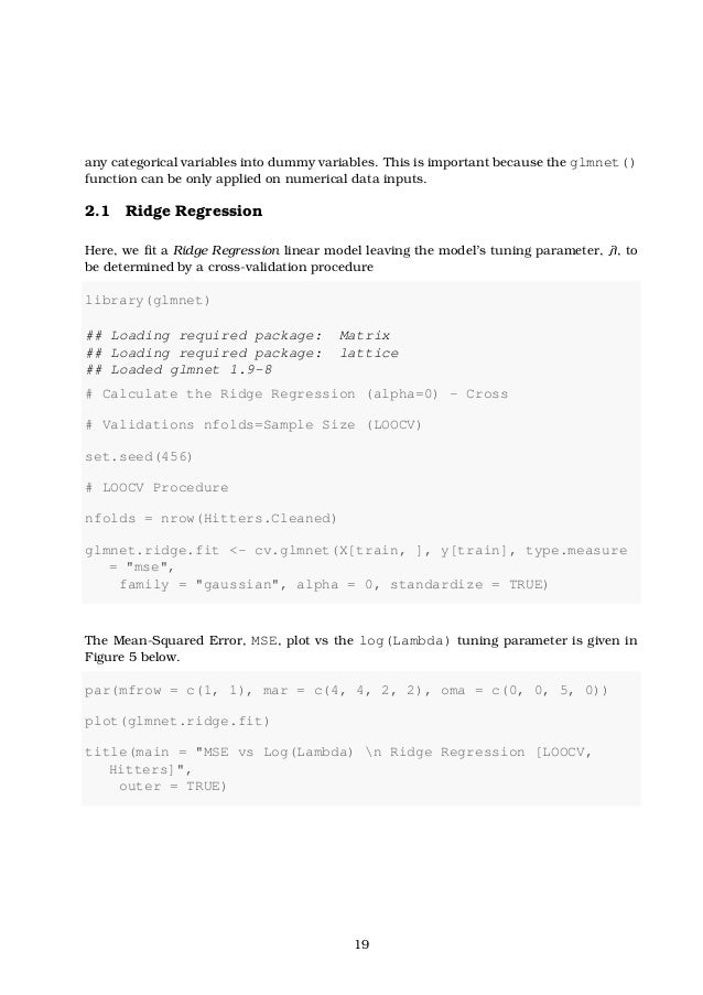 Linear Model Selection and Regularization (Article 6 - Practical exer…
