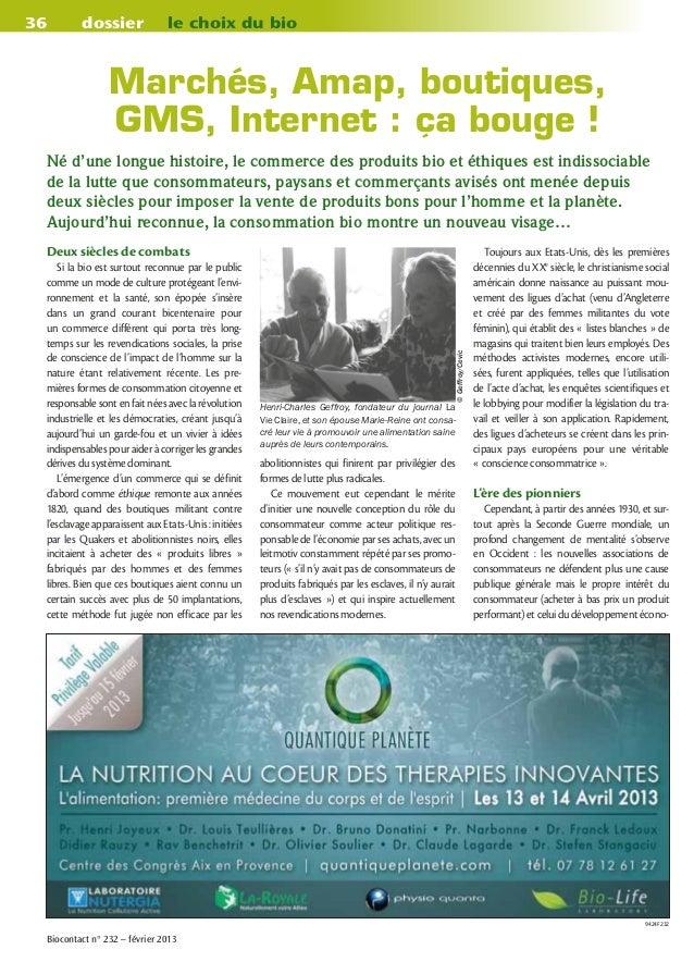21779959459 La grande histoire de la distribution bio et du commerce éthique