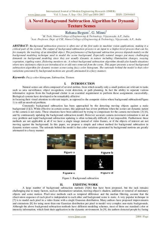 www.ijmer.com  International Journal of Modern Engineering Research (IJMER) Vol. 3, Issue. 5, Sep - Oct. 2013 pp-2804-2807...