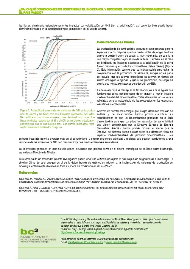 las tierras, disminuiría ostensiblemente los impactos por volatilización de NH3 (i.e. la acidificación), así como también ...