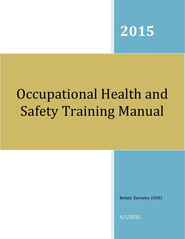 Ohs Training Manual