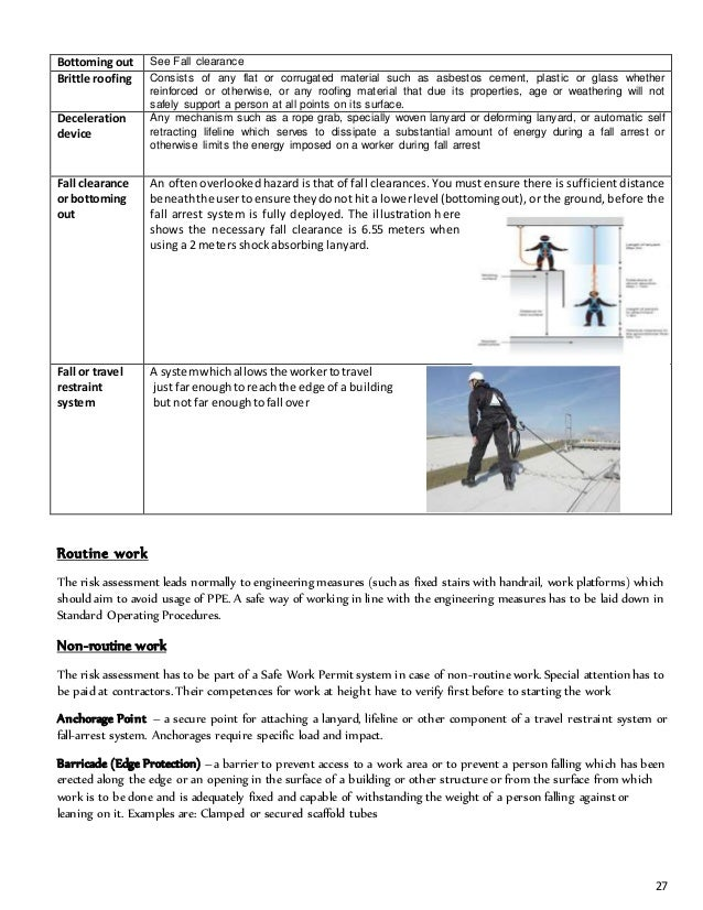 manual handling safe work procedure