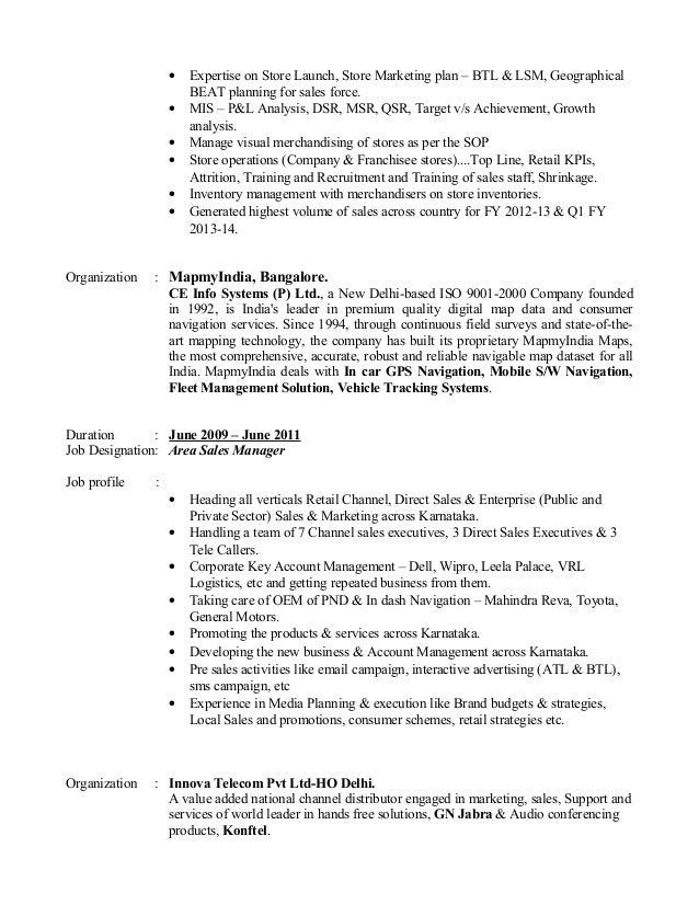 Resume Slide 3