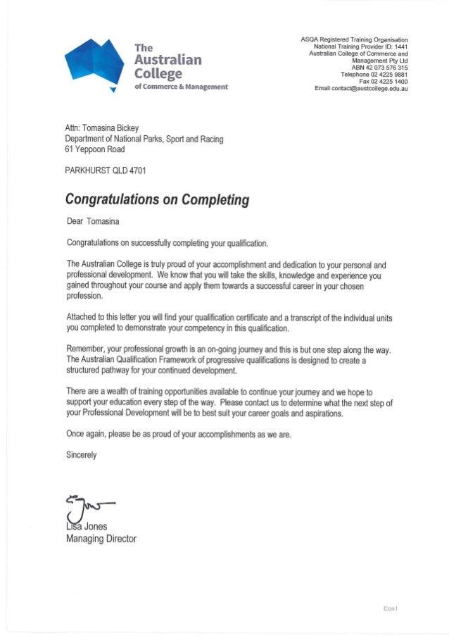 Certificate - CERT III in Recordkeeping