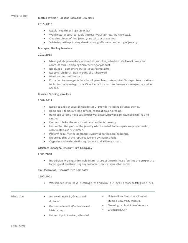 Brian's Resume2 Slide 2