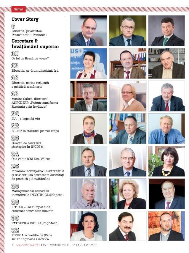 33 Șase decenii şi jumătate de învăţământ energetic la Bucureşti 34 O discuţie informală depre cercetare şi posibile impli...