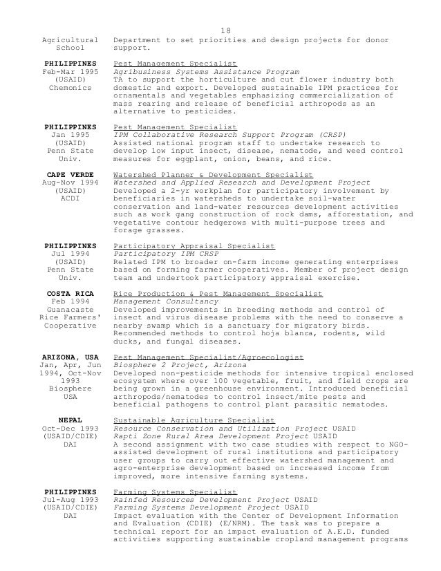 Best Farming Management Resume Images   Best Resume Examples And .