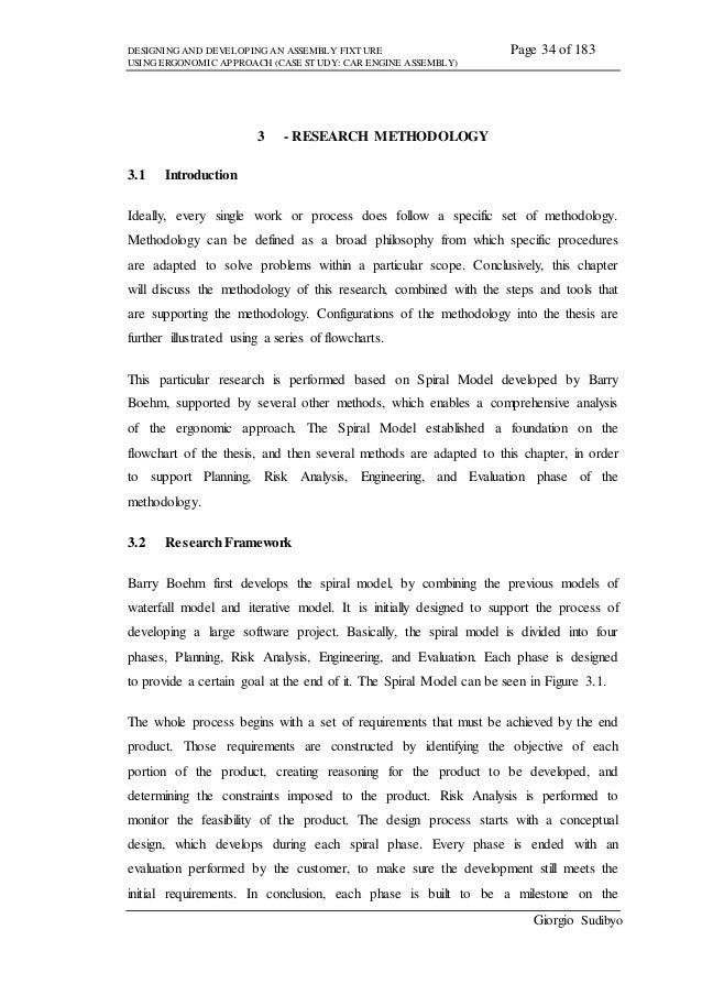 methodology dissertation