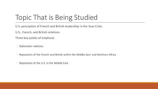 Suez Crisis 1956 Research Presentation MG Slide 3
