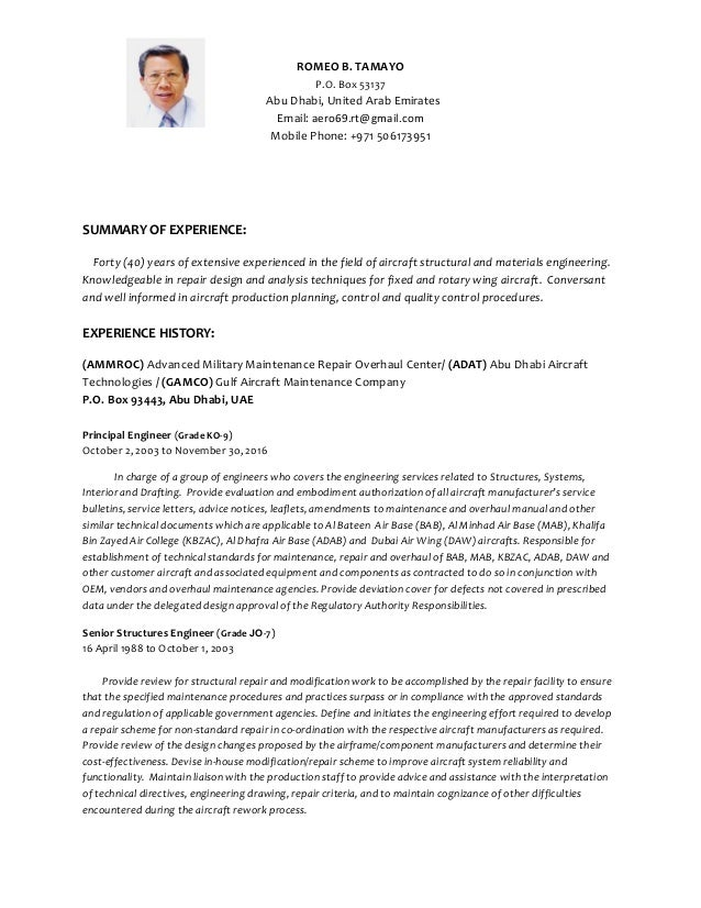 rbt resume