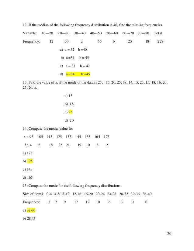 Bca business statistics 20 ccuart Images