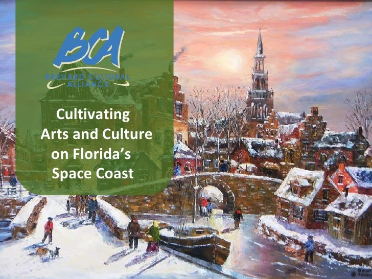 Cultivating Arts and Culture on Florida's  Space Coast