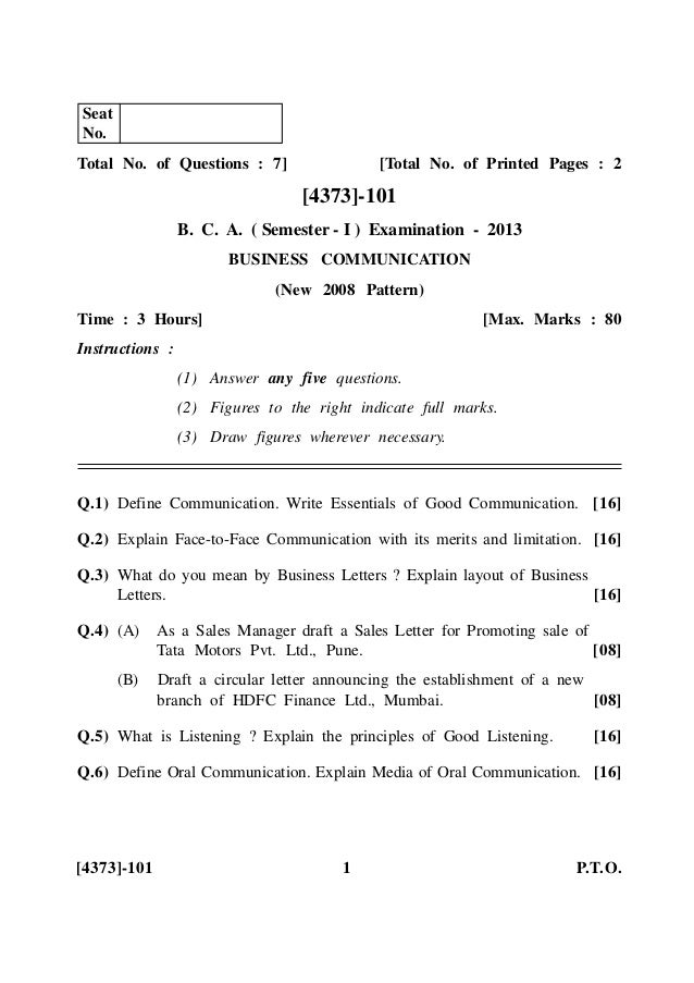bca 2nd sem question papers free download