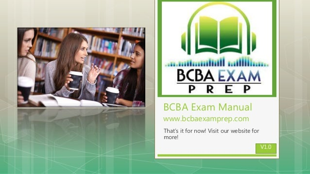 BCBA Study Guide - The Best Tools for BCBA Exam Prep